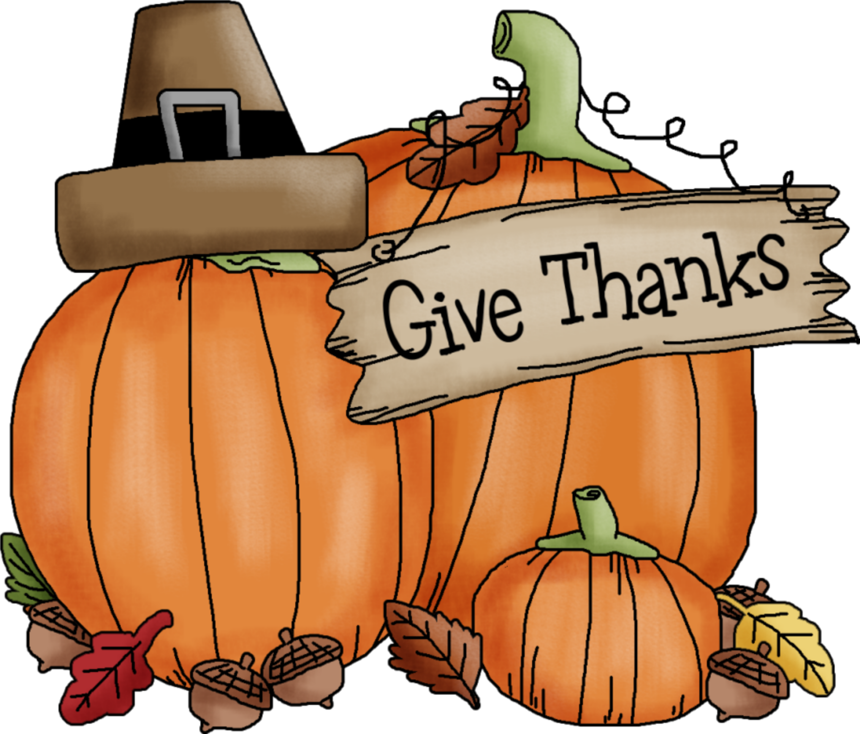 November transparent. Collection of thanksgiving clipart
