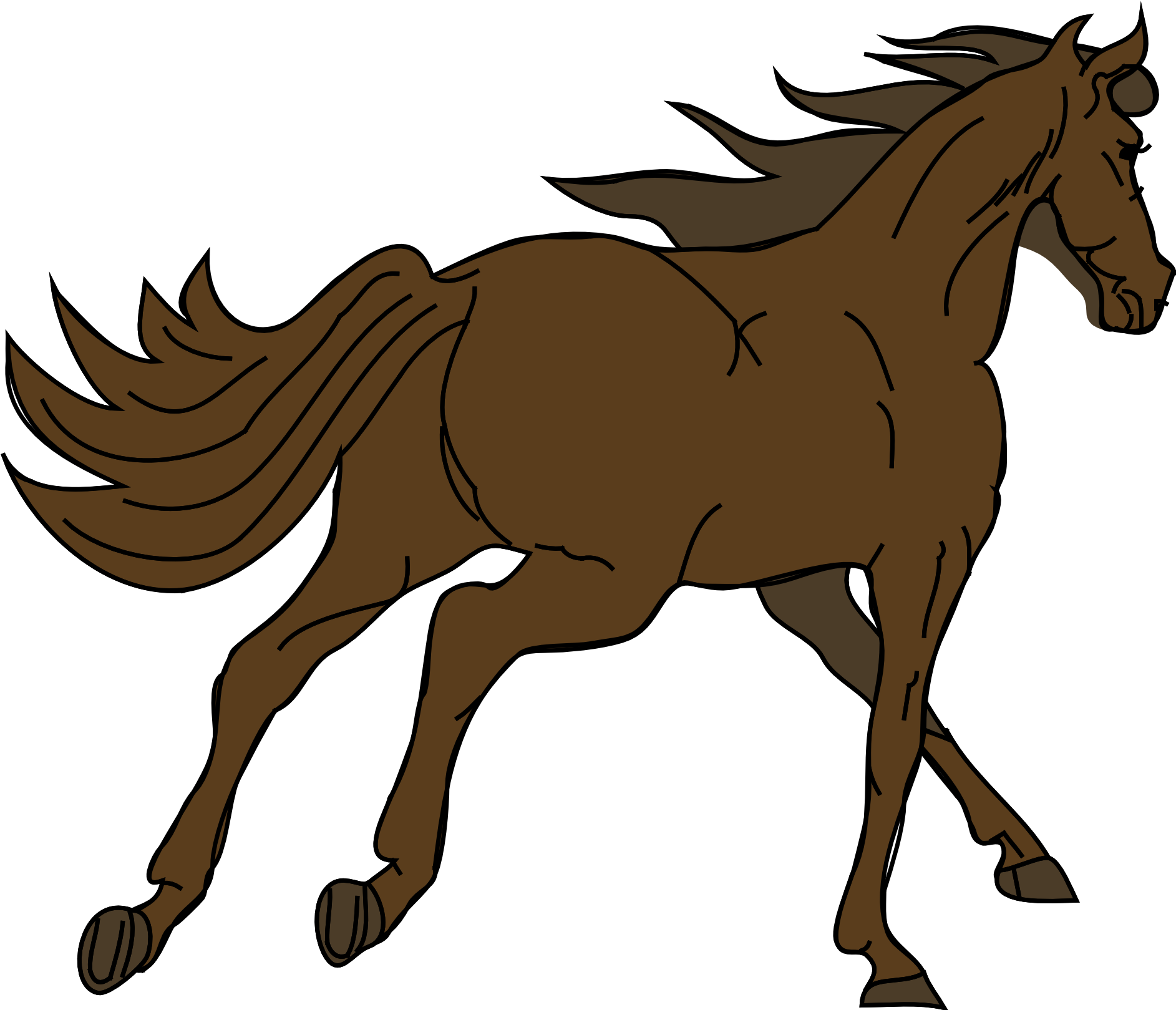 Running Horse Clipart Running Horse Gif Png Transparent Png Full Size Clipart 4213 Pinclipart