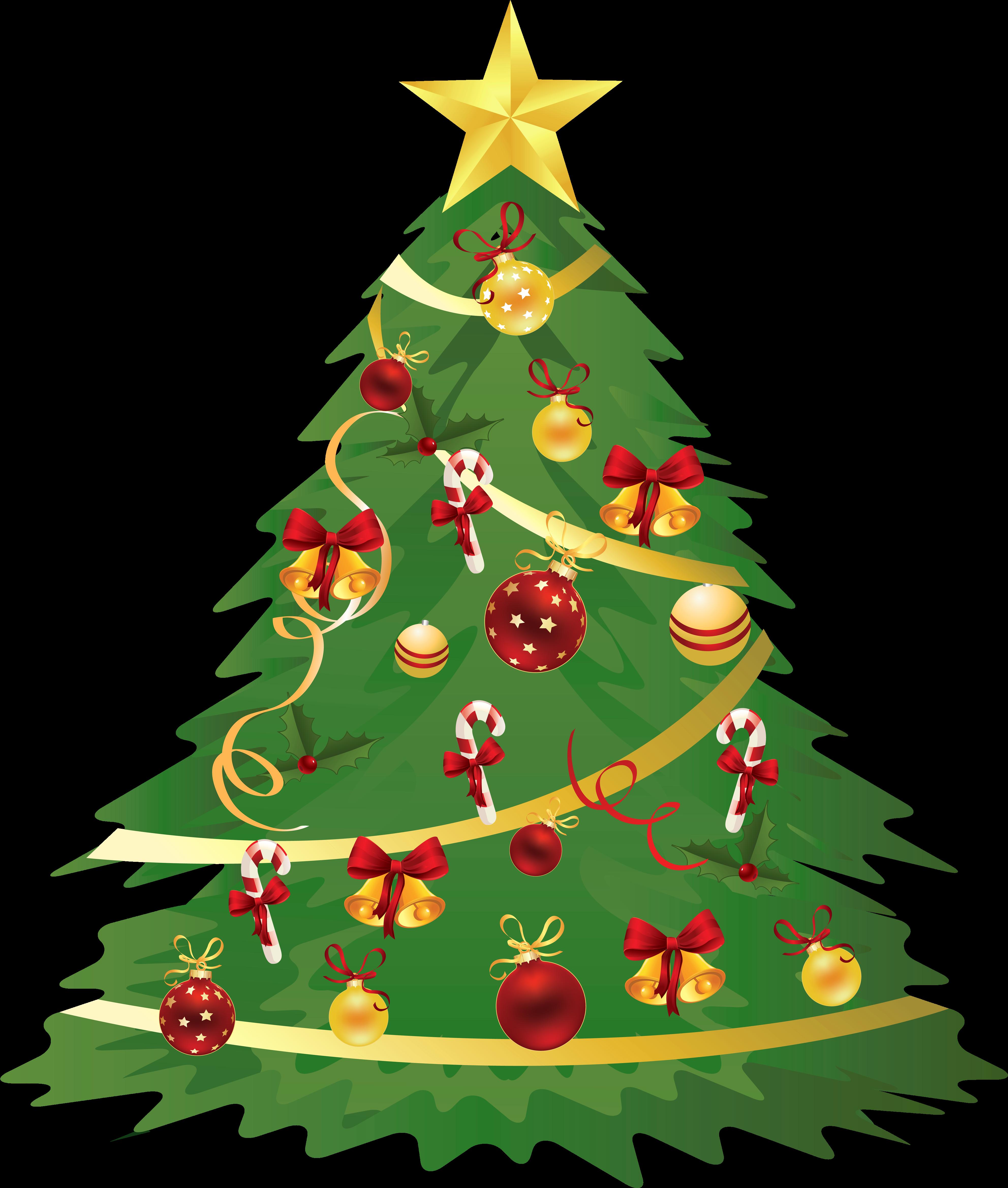 Christmas Clipart No Background.Tree Christmas Christmas Tree Clipart Transparent