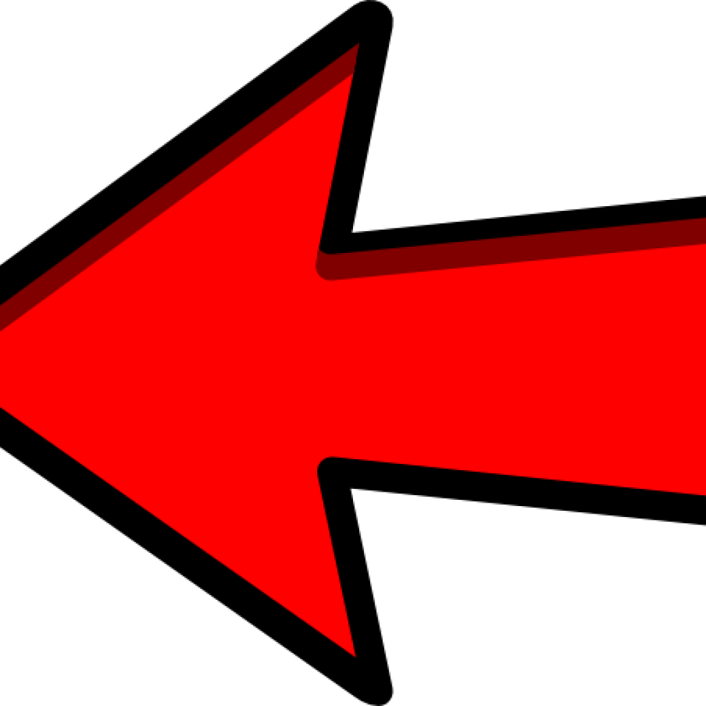 Red Arrow Clipart Left Red Arrow Clip Art At Clker Left Arrow Png Download Full Size Clipart 12343 Pinclipart