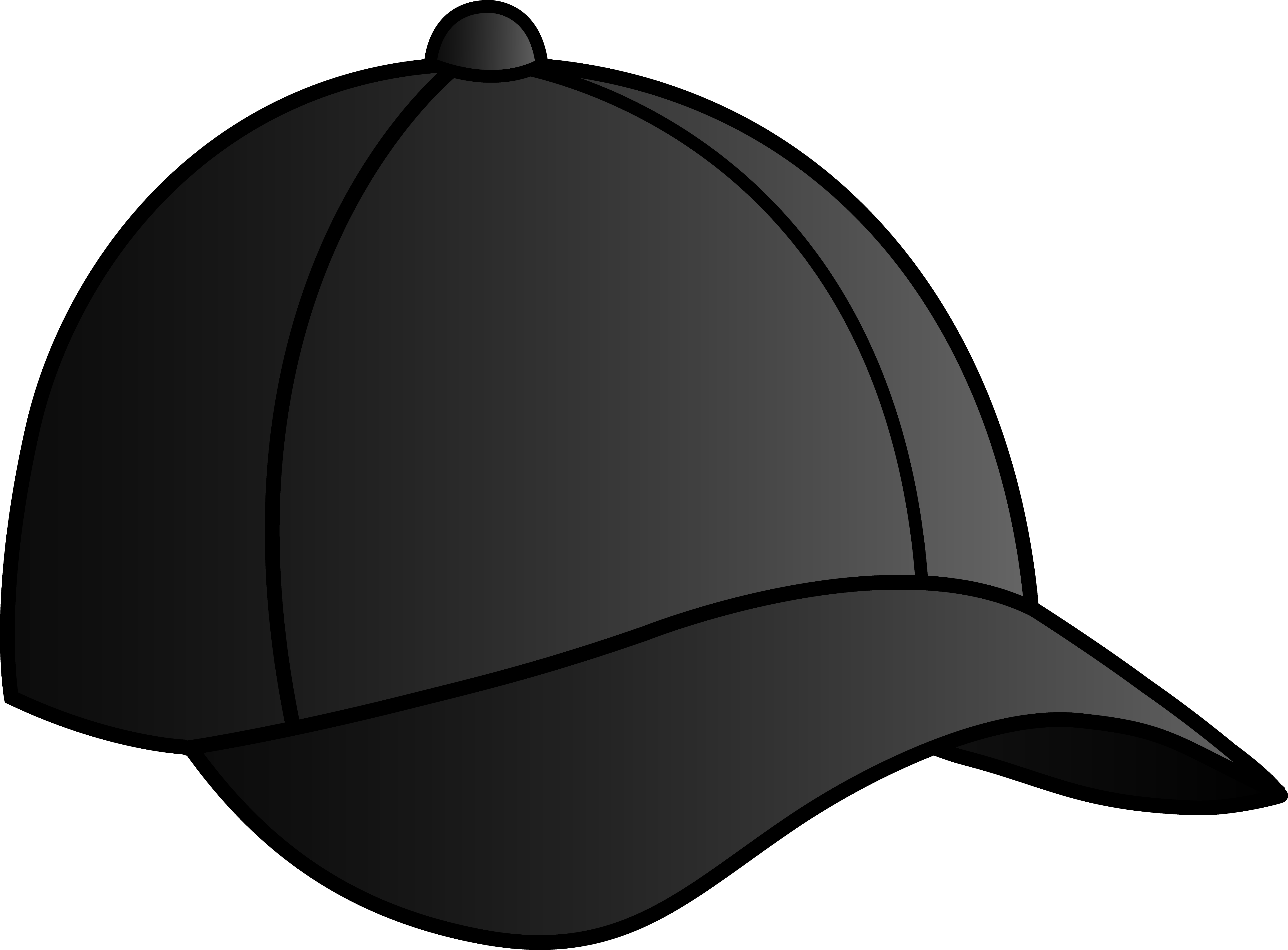 Baseball Hat Black Baseball Cap Free Clip Art Black Baseball Cap Cartoon Png Download Full Size Clipart 13480 Pinclipart
