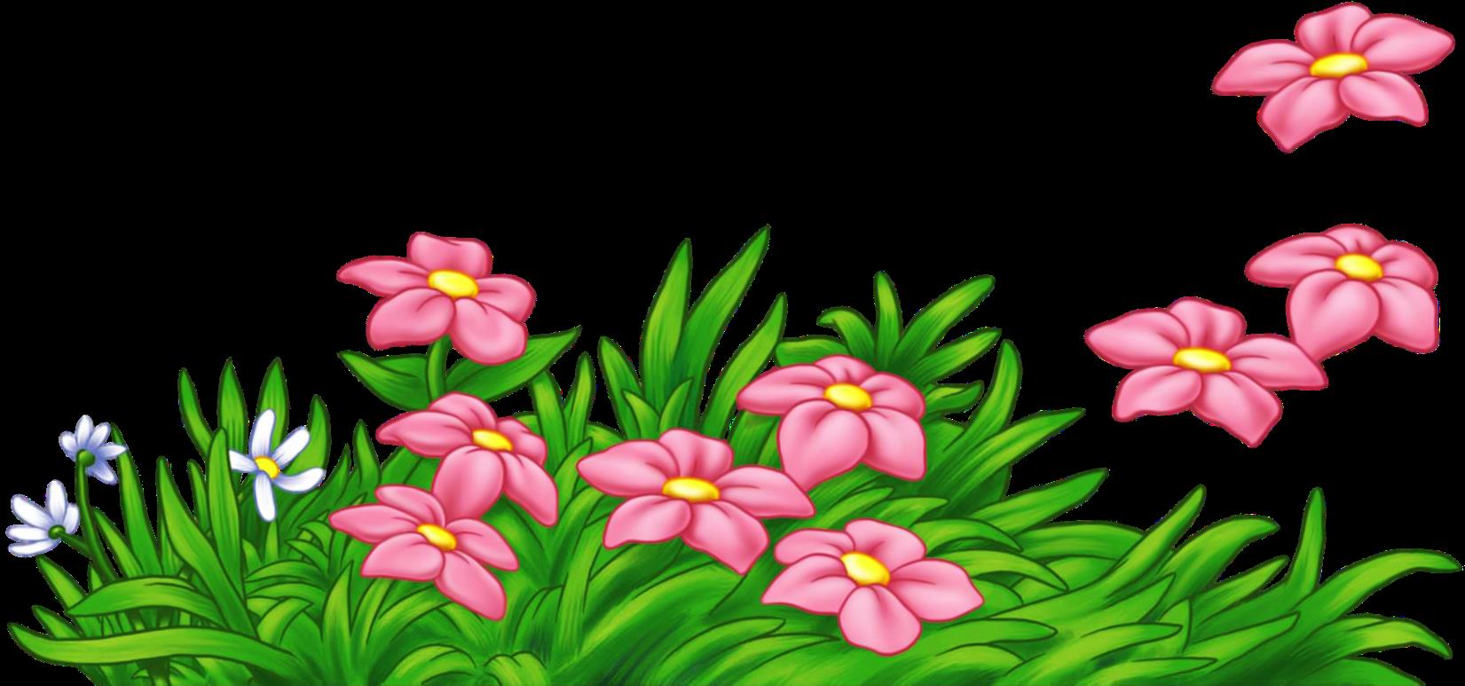 Картинки клипарт цветы для детей