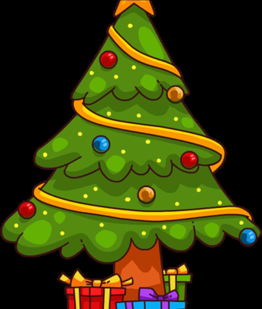 10++ Christmas Tree Clipart