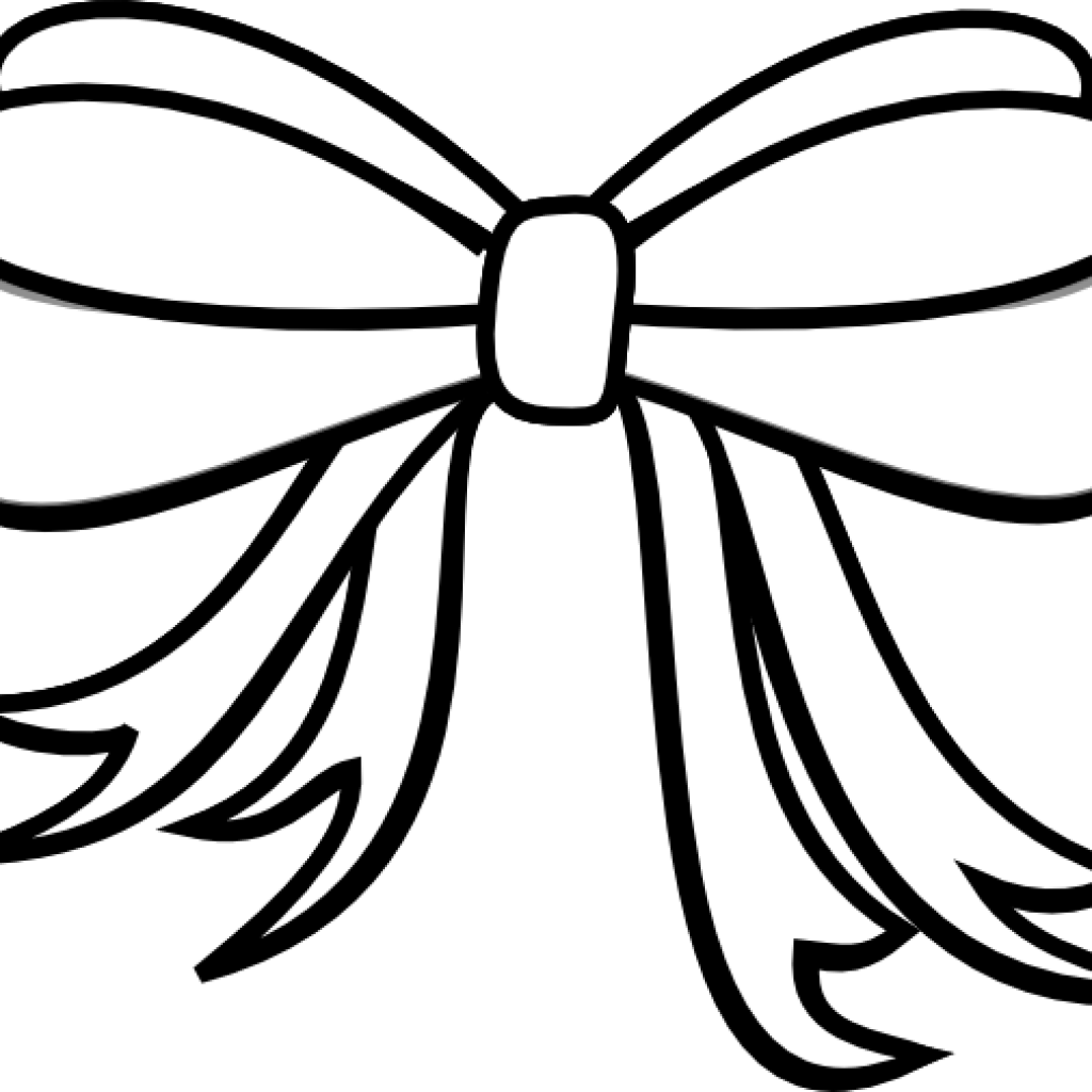 Bow white. Cross clipart library stock