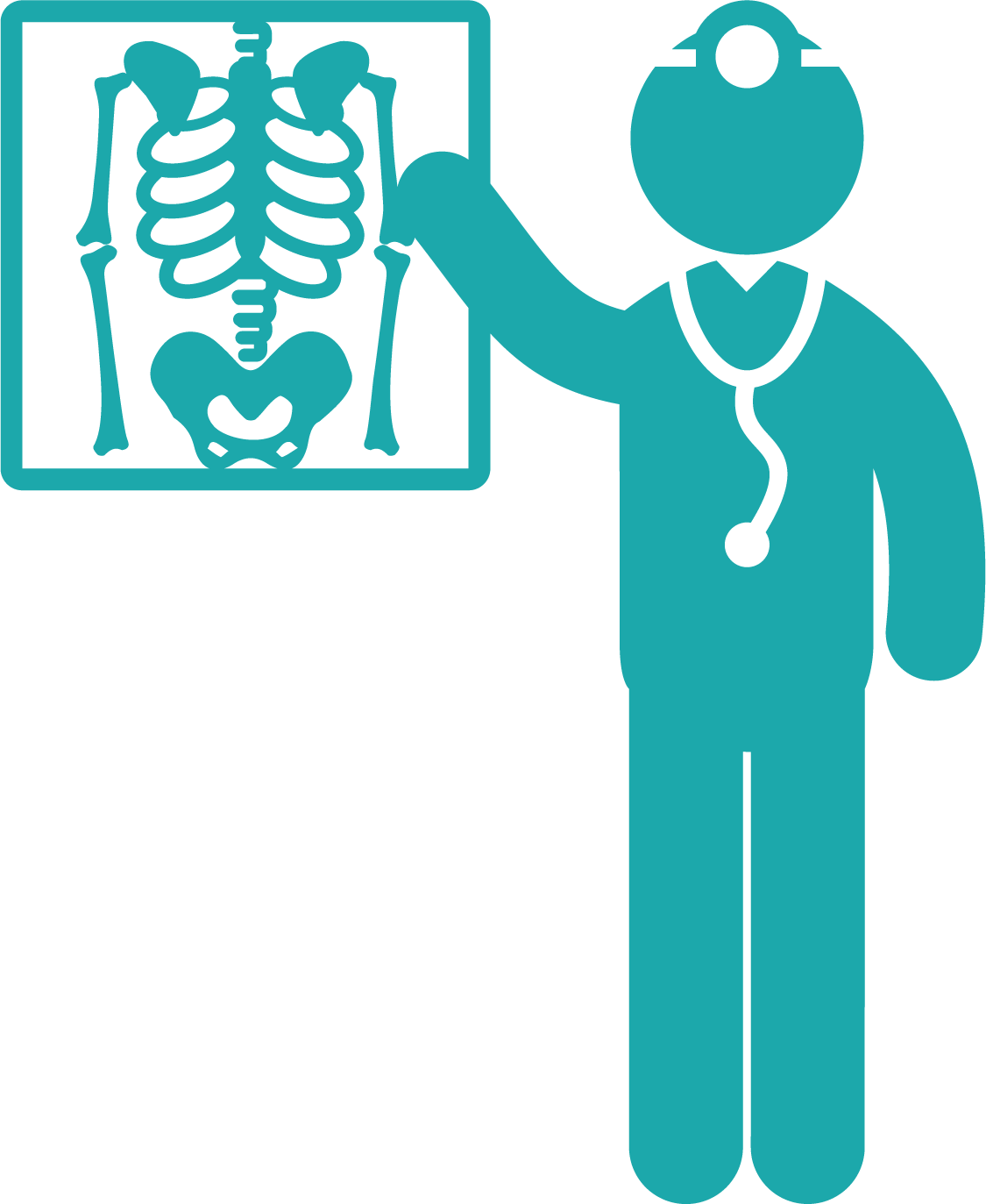 X Ray Computed Tomography Health Care Icon - X Ray Vector ...