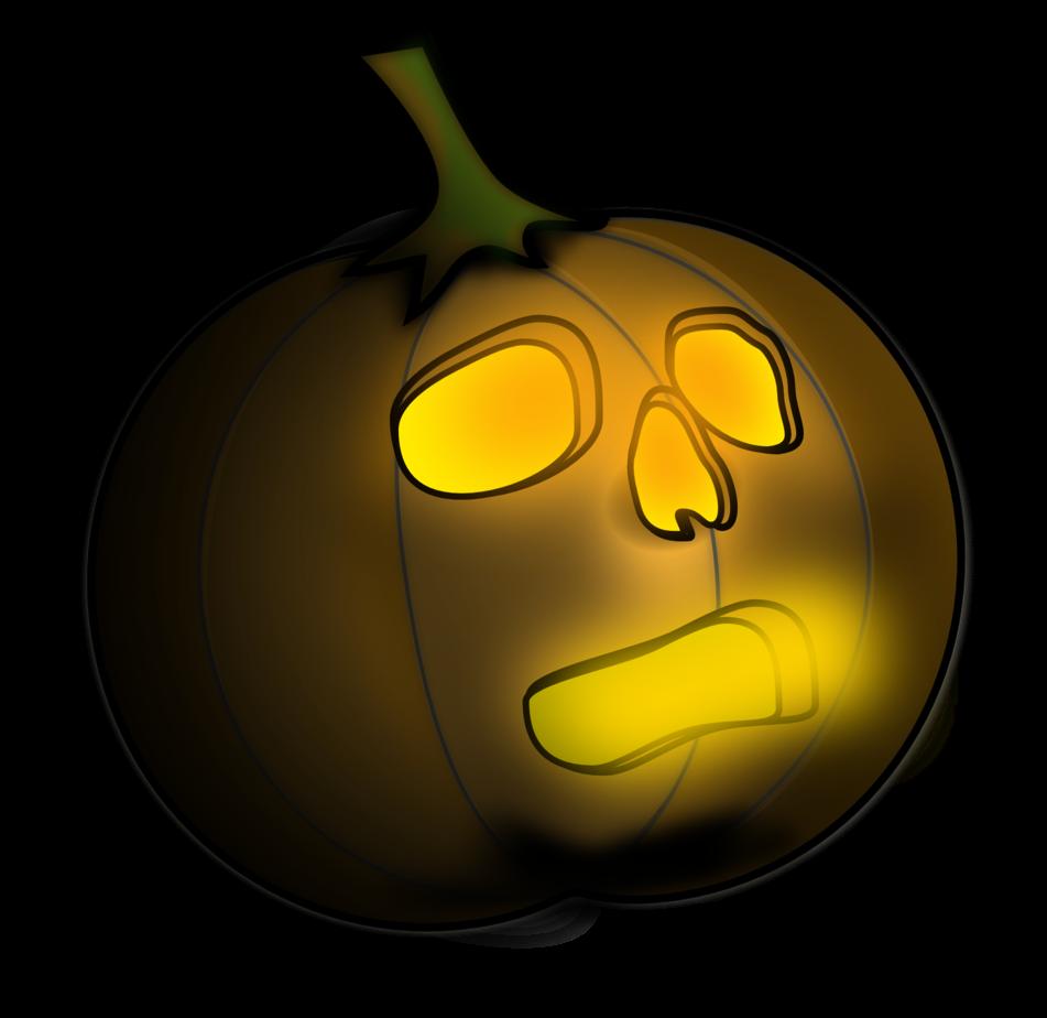 Jack o Lantern 2 Halloween Badge 25mm Button Pin
