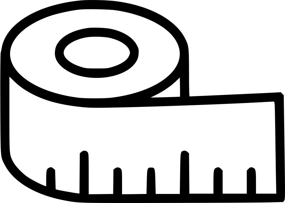 Tape Measure Ruler Vector Illustration Stock Vector - Illustration of  handtool, hand: 1519628