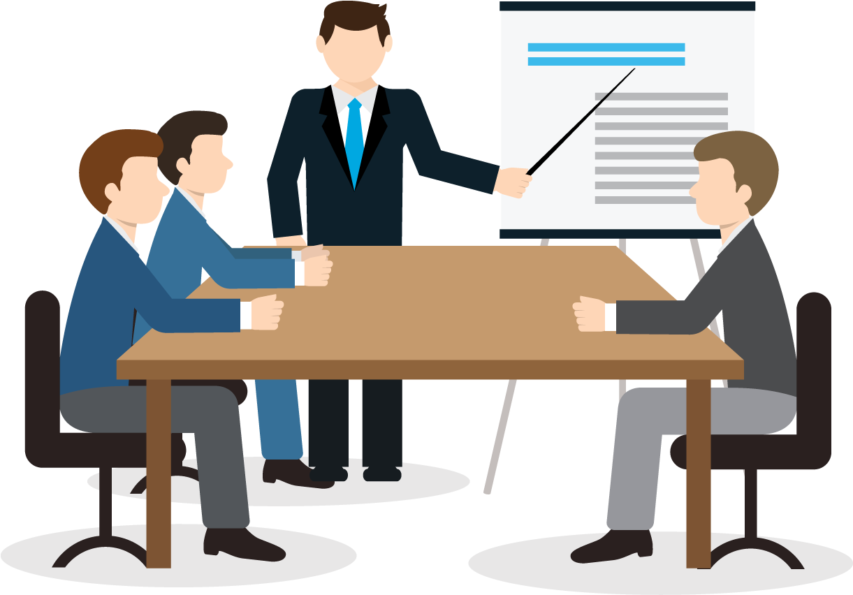 Training Business Team Vector Clipart Full Size Clipart 1012309 Pinclipart