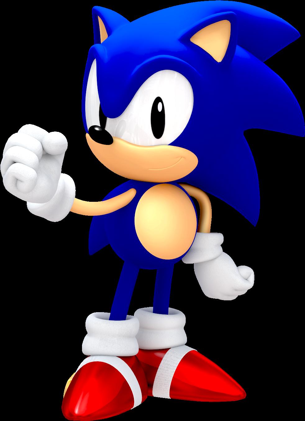 25th Anniversary Classic Sonic - Classic Sonic The ...