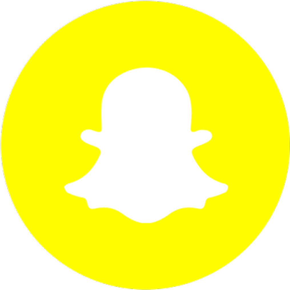 Youth Ministry Snapchat Logo Round Png Clipart Full Size Clipart 1043609 Pinclipart