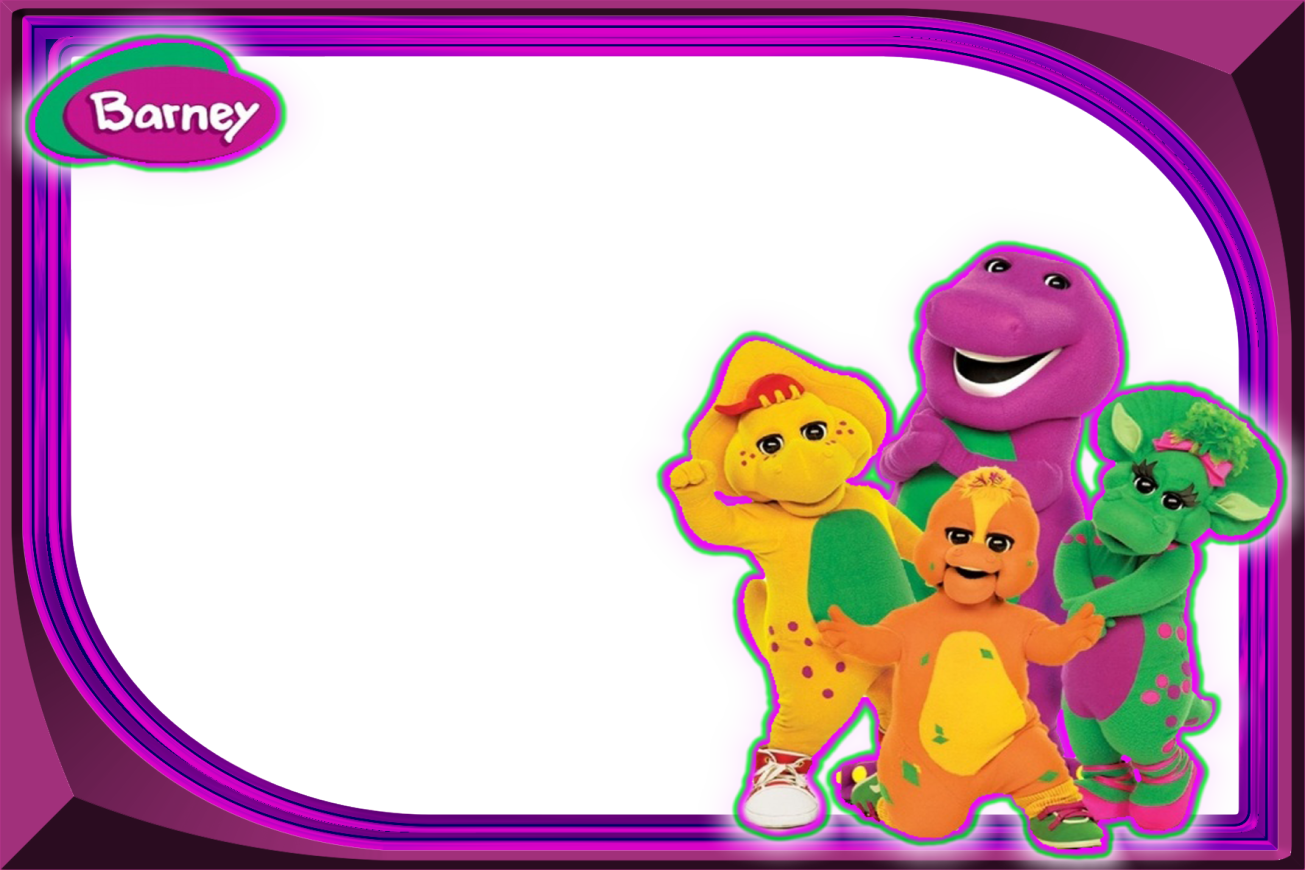Perfect Barney And Friends Clip Art
