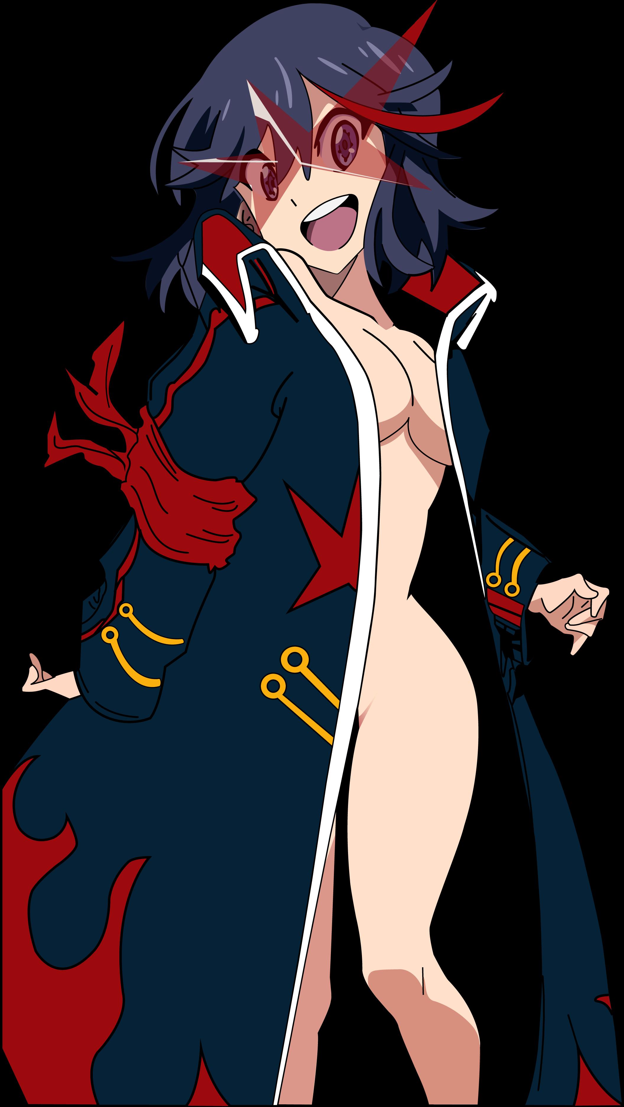Ryuko Matoi Red Fictional Character Human Hair Color