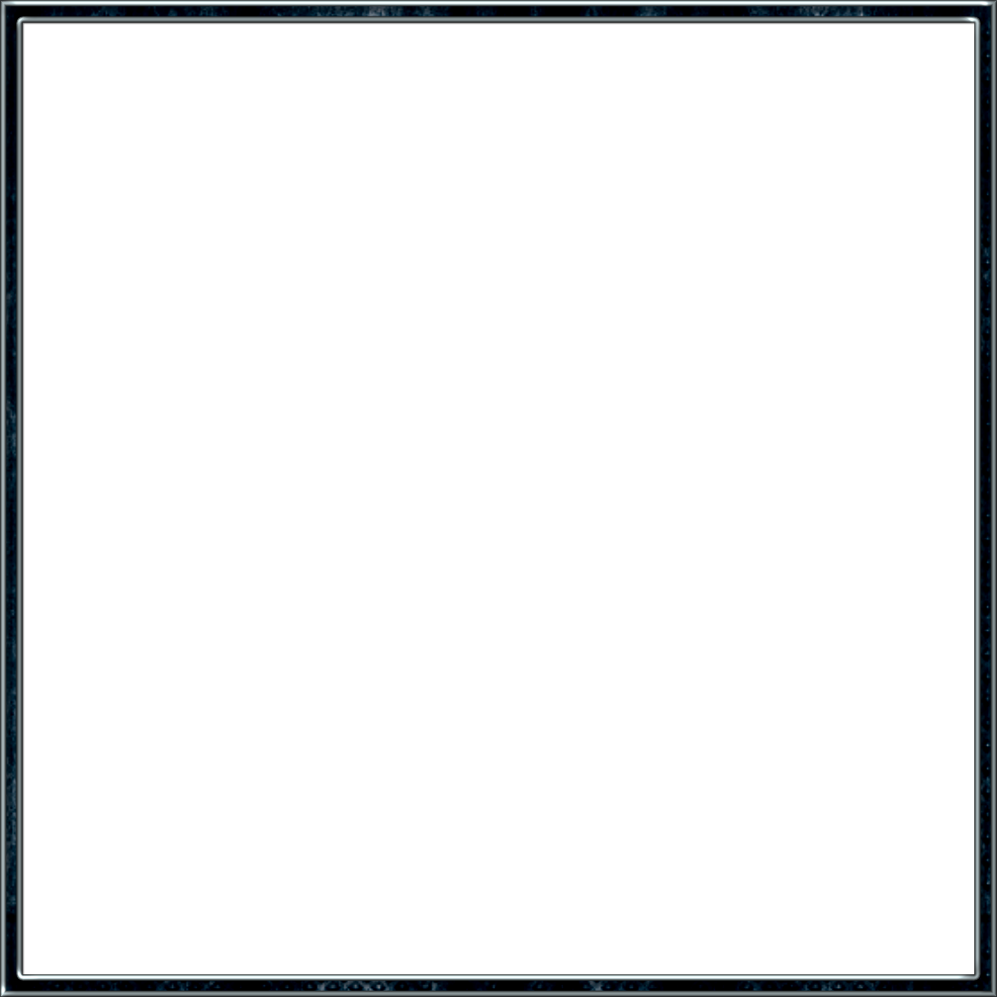 Rustic Clipart Square - Black Square Frame Png Transparent ...