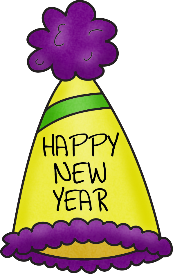 back to school in the new year first five new years party hats clip art png download full size clipart 114143 pinclipart party hats clip art png download