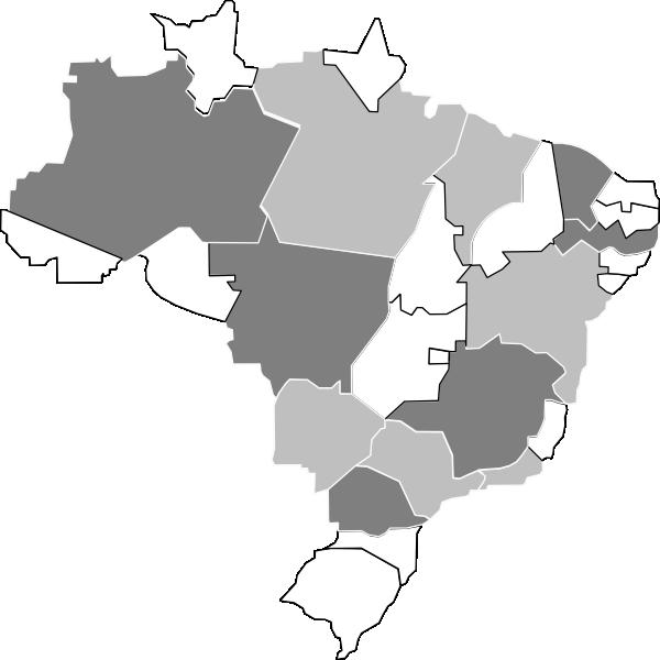 Desenho Do Mapa Do Brasil Clipart Full Size Clipart 114908