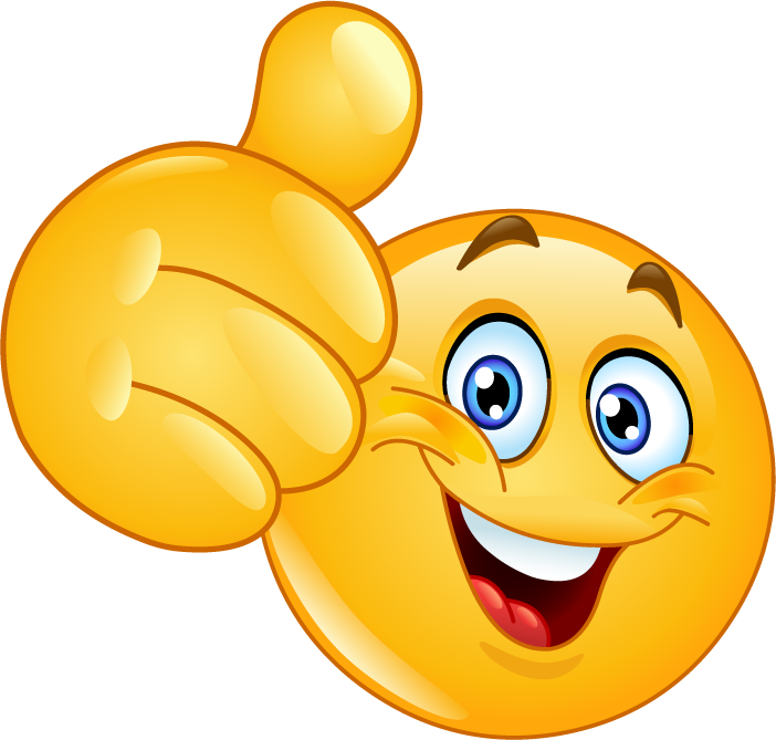 Smiley Face Thumbs Up Clipart - Full Size Clipart ...
