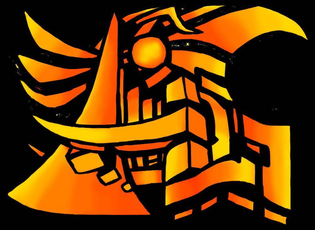 Graffiti - Digital Painting - Orange Graffiti Png Clipart - Full Size Clipart (#1105726 ...
