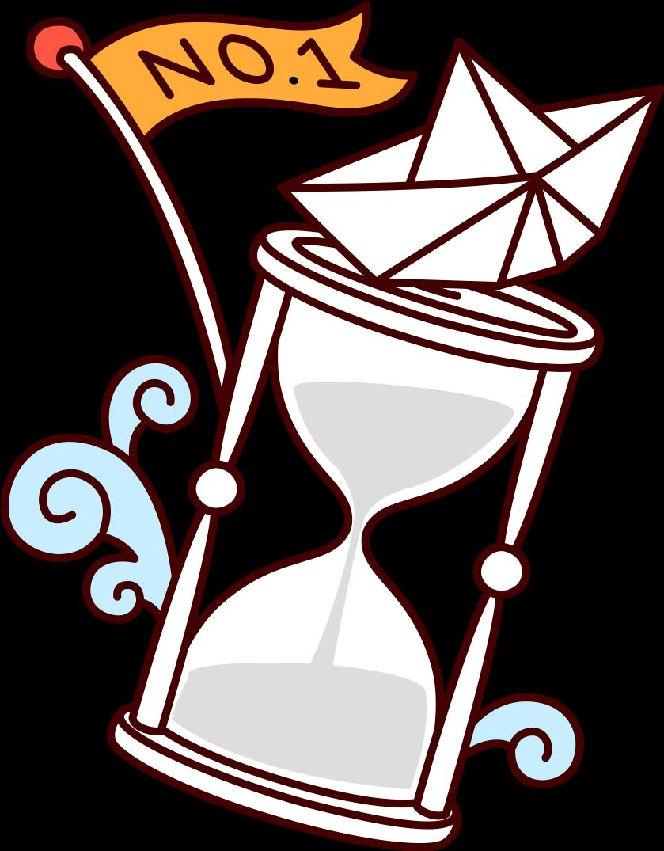 Jpg Free Download Cartoon Clip Art Painted Reloj De Arena