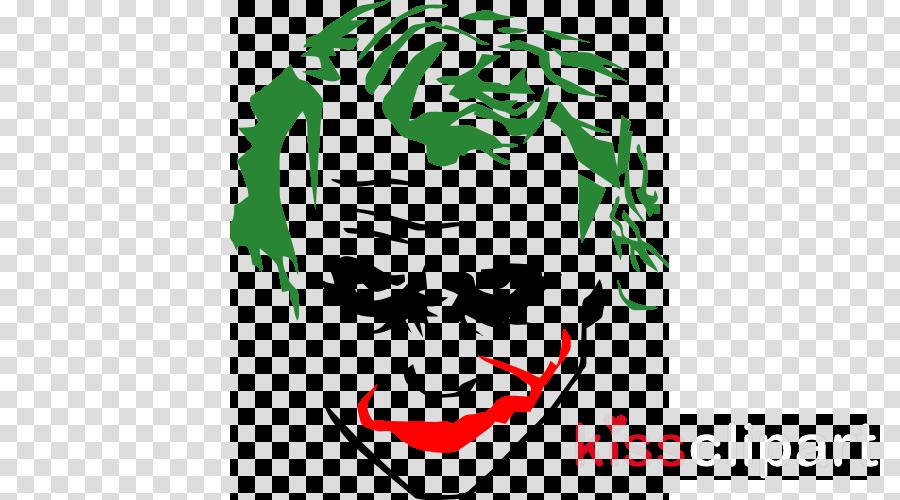 Joker Stencils Clipart Joker Batman Harley Quinn Joker Stencil Png Download Full Size Clipart 1126840 Pinclipart