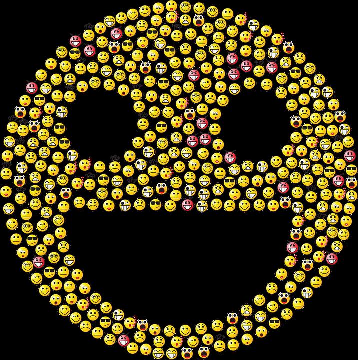 Graphic Emoticons - Dibujos De Todos Los Emoji Clipart - Full Size ...