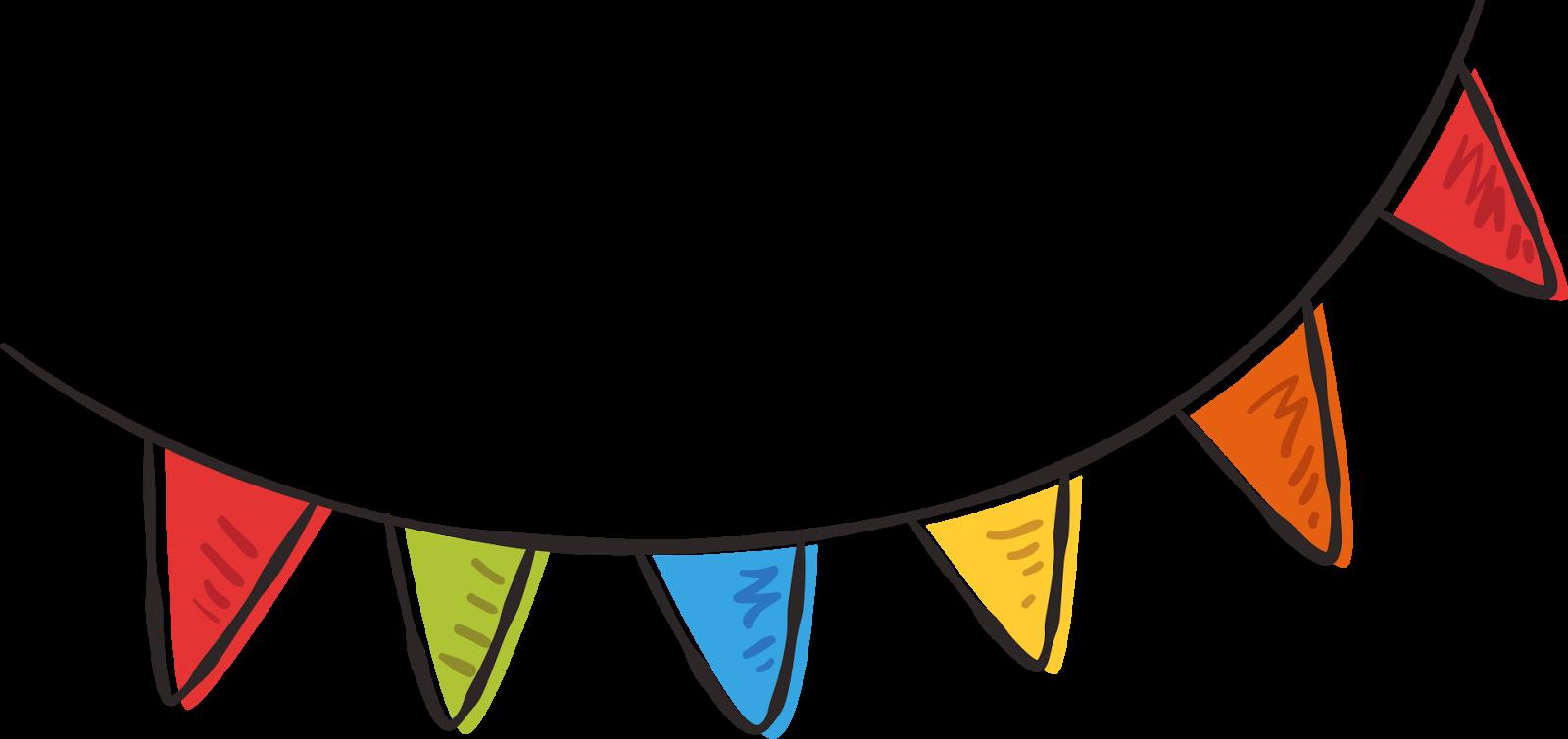 Milho Festa Junina Png - Bandeirinhas Festa Junina Png Clipart (1600x755), Png Download