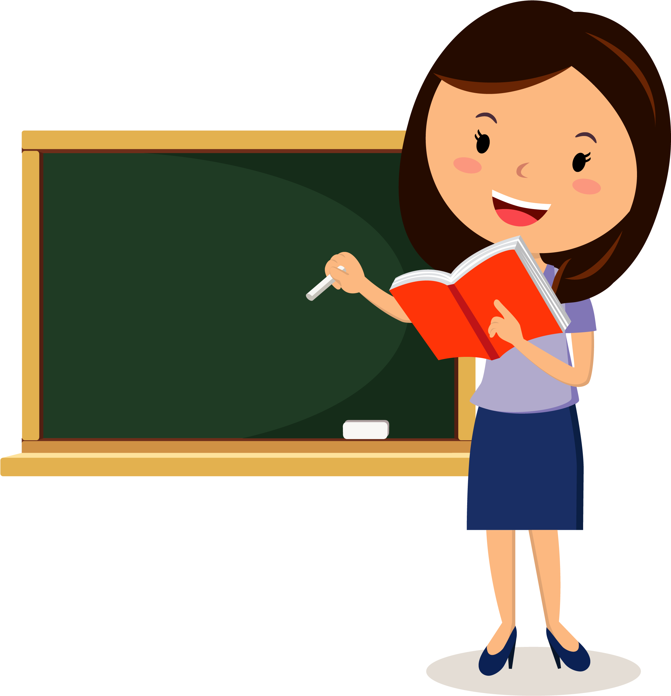 Download Teacher Png - Teacher Cartoon Clipart (#1146087 ...