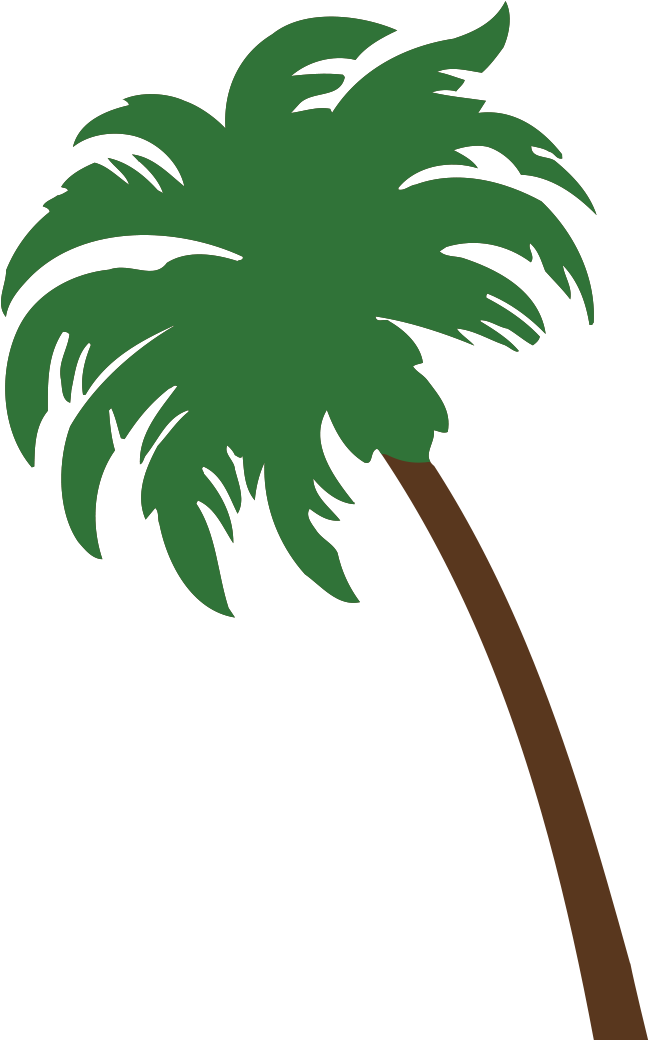 Image - Crossed Palm Trees Clipart - Full Size Clipart ...