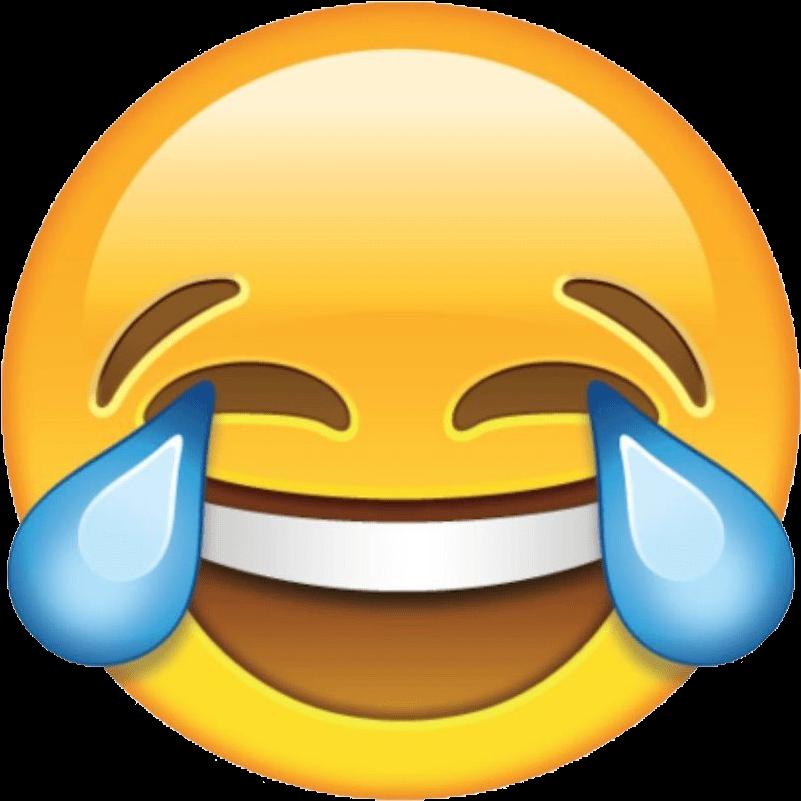 Crying Emoji Clipart - Laughing Emoji - Png Download ...