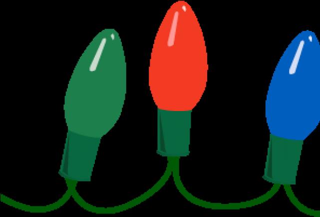Christmas Lights Clip Art.Light Bulb Clipart Border Christmas Lights Clipart Png
