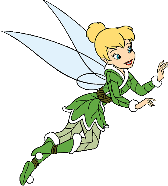 Fairy tinkerbell. Clip art pictures clipart