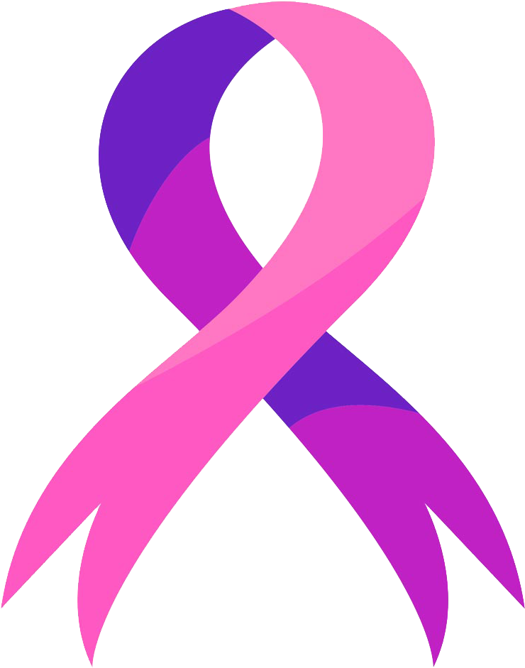 Breast Cancer Ribbon Png Picture Breast And Cervical Cancer Logo
