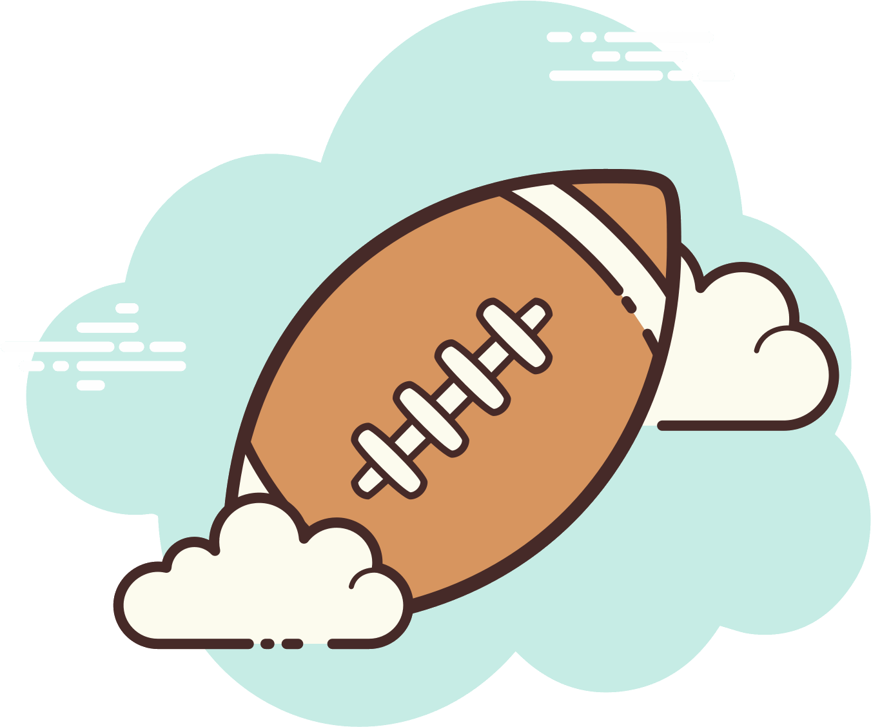 American Football Ball Icon Hotel Key Icon Clipart Full