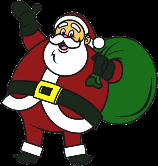 Weihnachtsmann Für Heiligabend