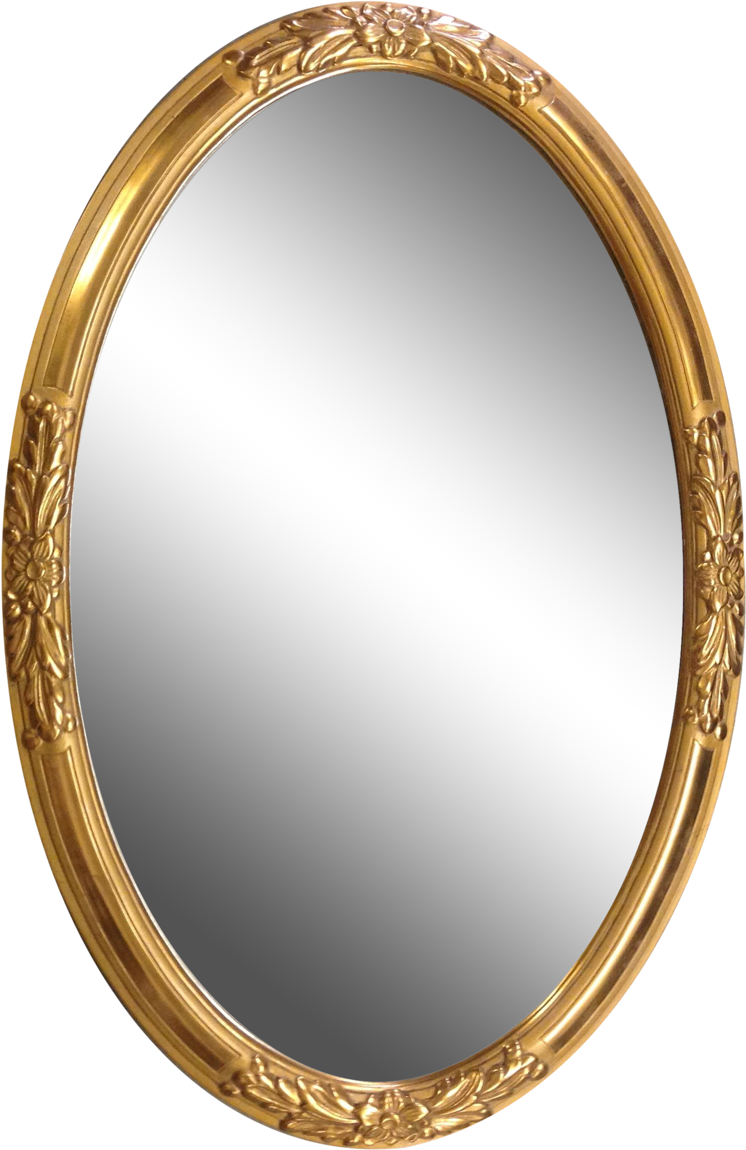 Oval Mirror Frame Png Clipart Full Size Clipart 1256935 Pinclipart