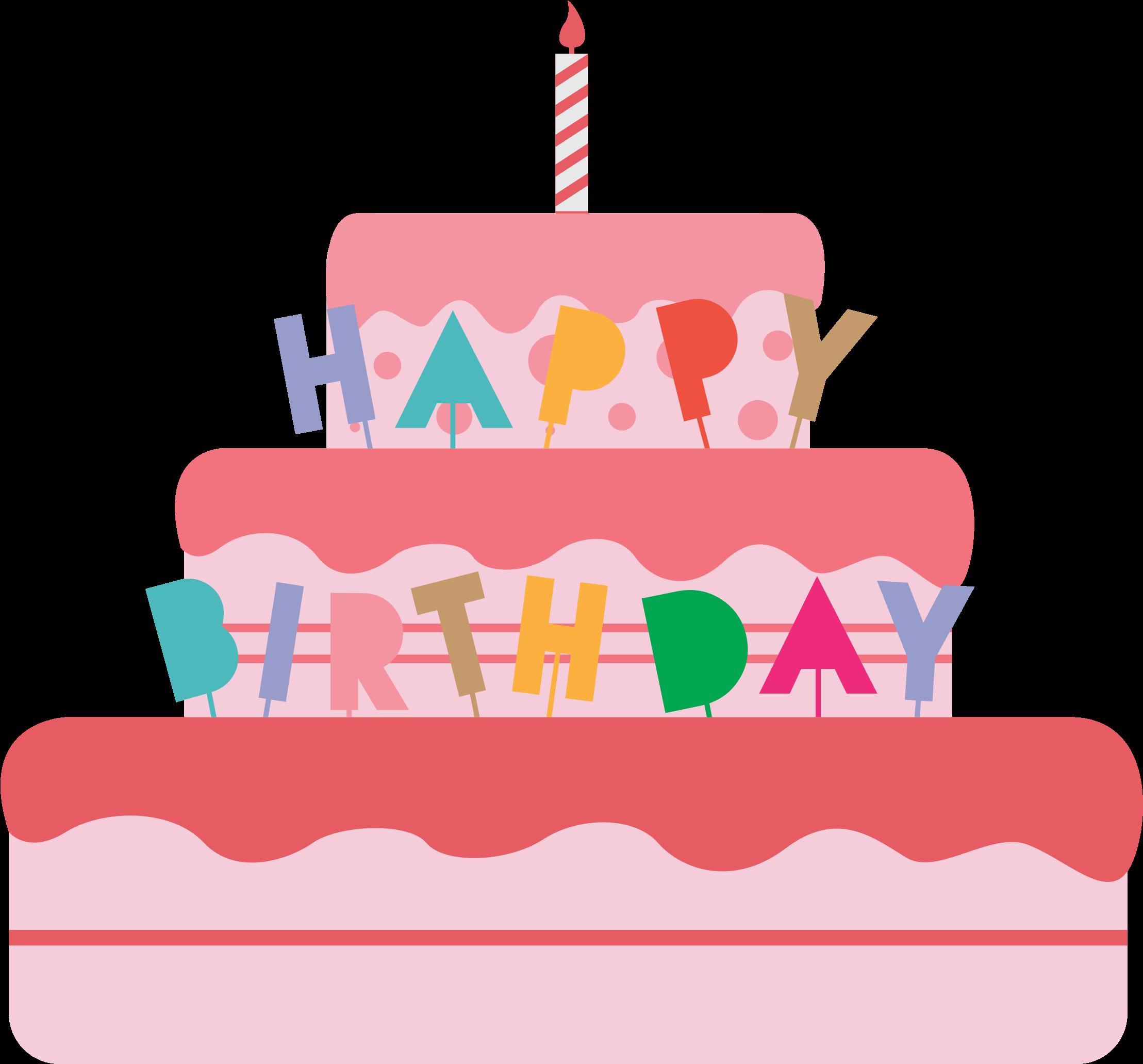 Sensational Big Image Birthday Cake Vector Png Clipart Full Size Clipart Funny Birthday Cards Online Inifodamsfinfo