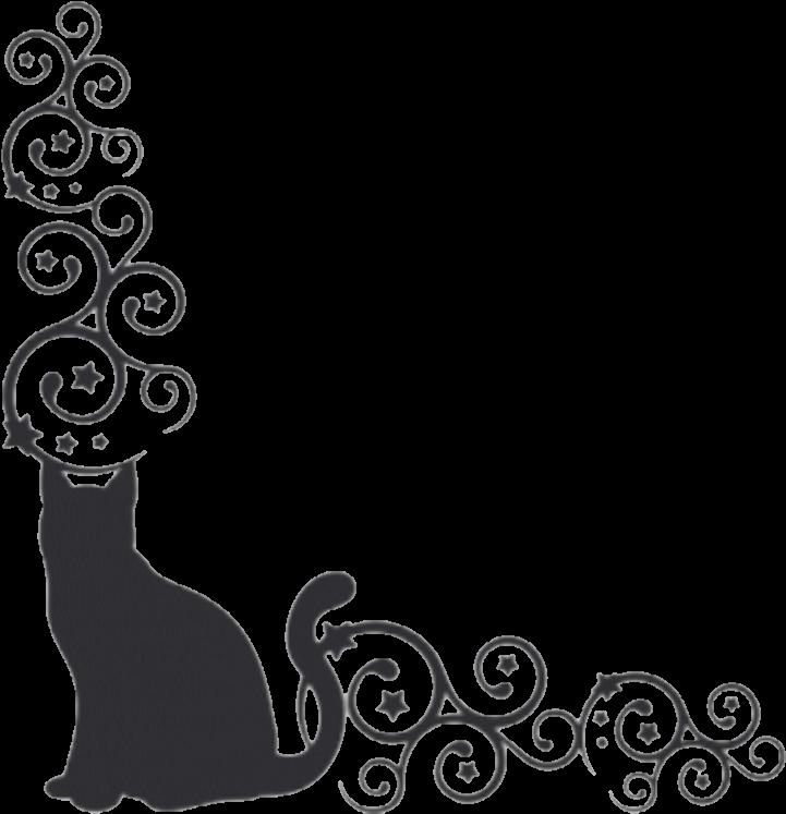 borders cat kitty cats blackcat pets cat borders clipart full size clipart 1290660 pinclipart borders cat kitty cats blackcat pets