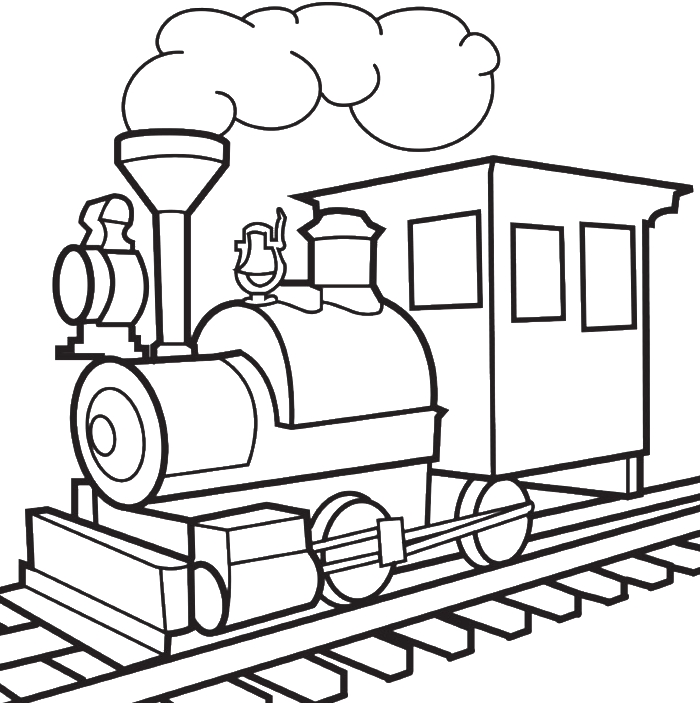 Train Drawings For Kids Drawing Image Of Train Clipart Full Size Clipart 134955 Pinclipart