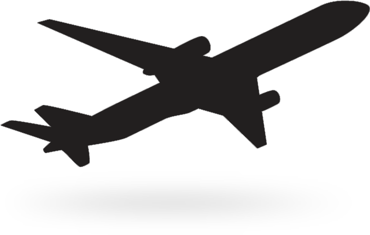 Black Background Airplane Icon Vector Free Vector In Black Transparent Airplane Png Clipart Full Size Clipart 1308955 Pinclipart