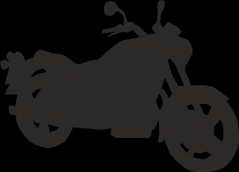 Motorcycle Silhouette Clip Art Motorrad Vektor Png Download