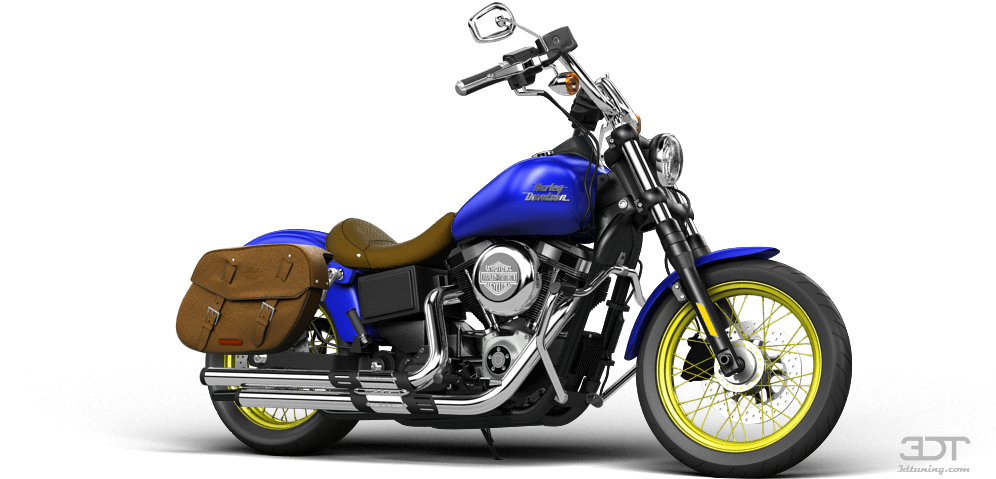 Harley-davidson Dyna Street Bob Cruiser 2015 Tuning - 3d Tuning