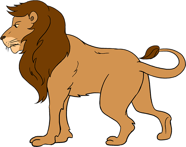 Clip Art Collection Of Free Cartoon Lion Drawing For Kids Png Download Full Size Clipart 1316768 Pinclipart A lion is a complex structure and outline to draw and to make this task easier; lion drawing for kids