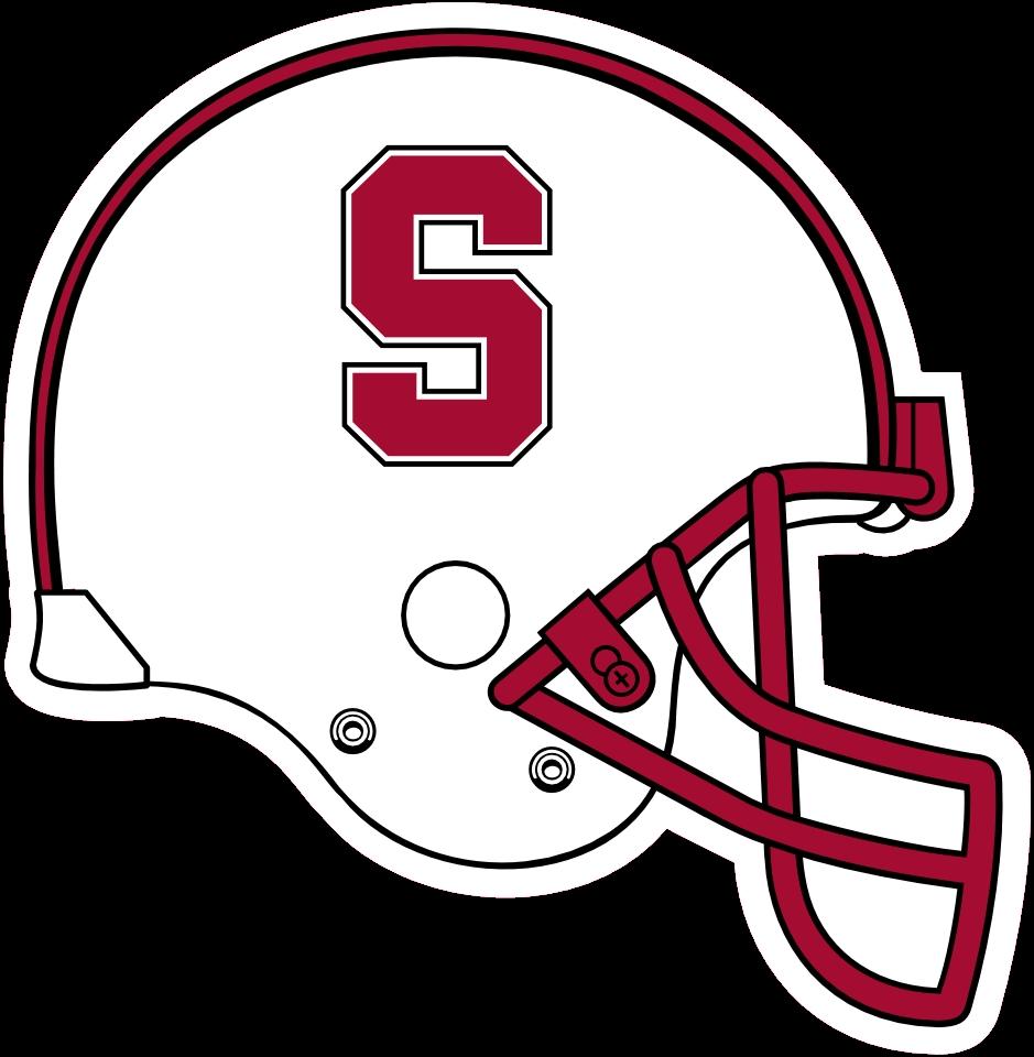 Stanford Football Helmets Logo Yale Football Helmet Clipart Full Size Clipart 1331850 Pinclipart
