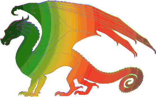 Dragon Breathing Fire Gif - Hybrid Wings Of Fire Clipart - Full Size