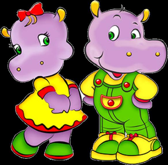Бегемотик картинки для детей нарисованные цветные