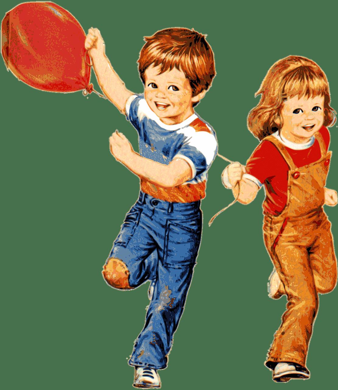 Картинка с мальчиком и девочкой, джек рассел