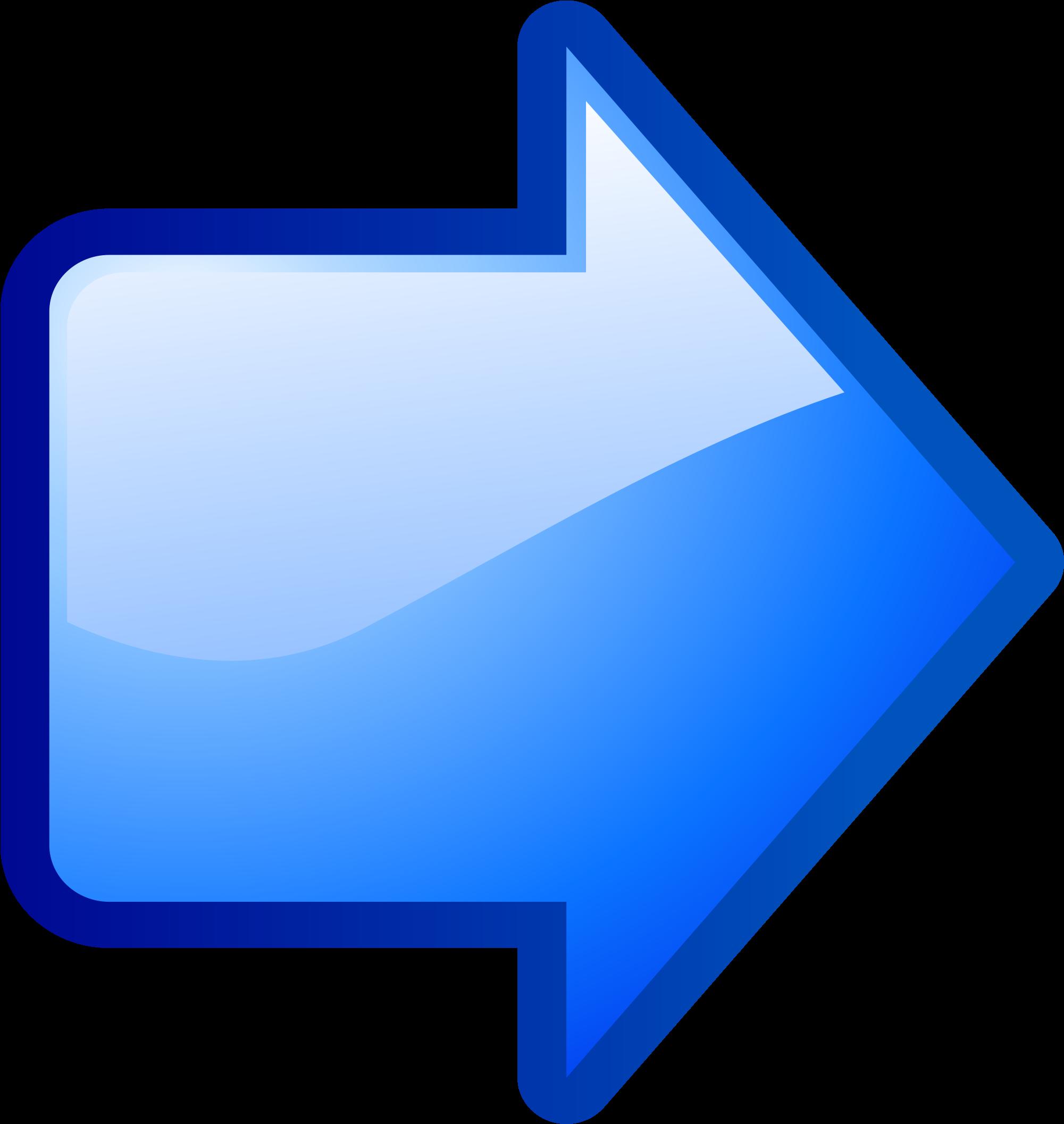 Risultati immagini per freccia blu gif