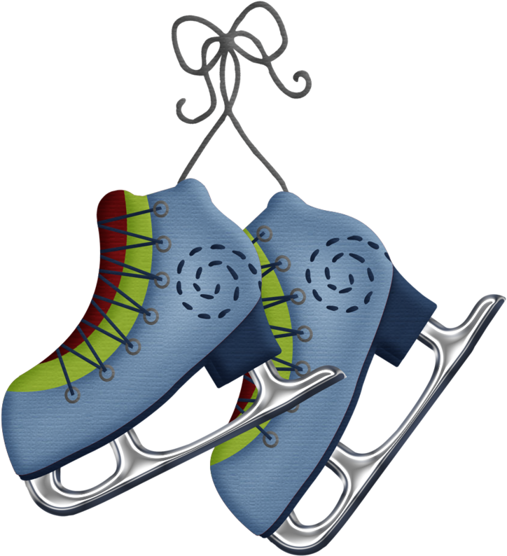Hiver Graphiques De Noel Clip Art Noel Clipart Hiver Christmas Ice Skates Clipart Png Download Full Size Clipart 1373349 Pinclipart