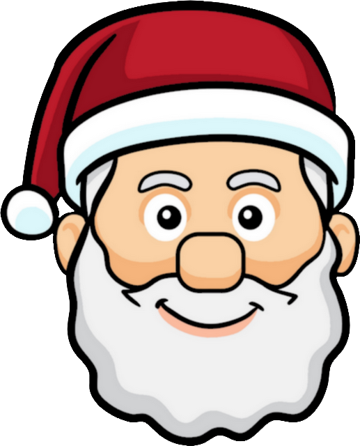 Ge Pere Noel Rouge Content Pere Noel Emoticone Clipart Full Size Clipart 1382516 Pinclipart