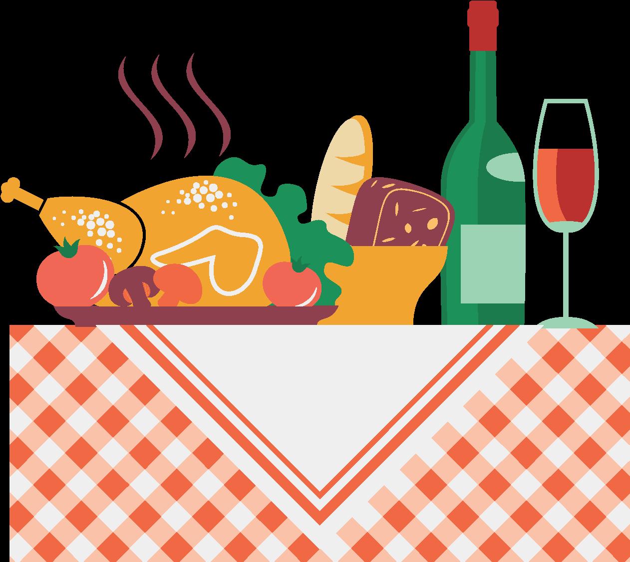 Elements Gastronomiques De Repas De Bureau De Dessin Recipe Planner And Journal Clipart Full Size Clipart 1384354 Pinclipart