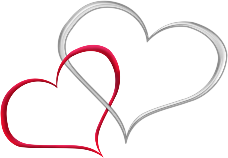 Clipart Coeur Fond Transparent - Clip Art - Png Download - Full ...